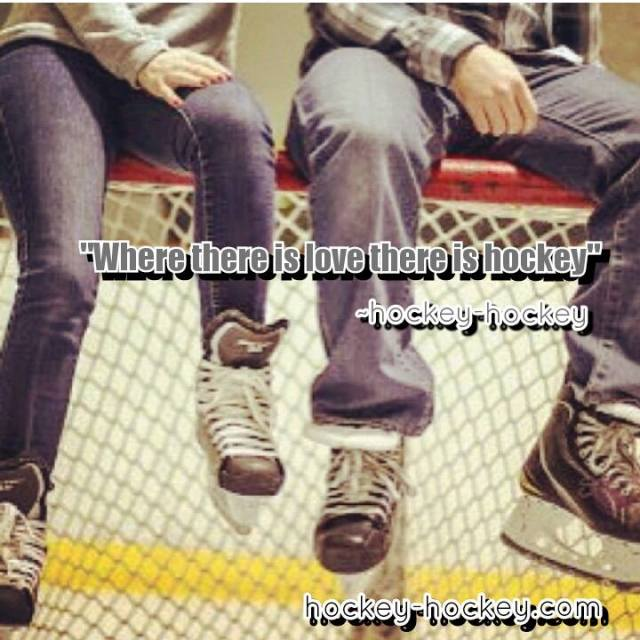Where there is love there is hockey