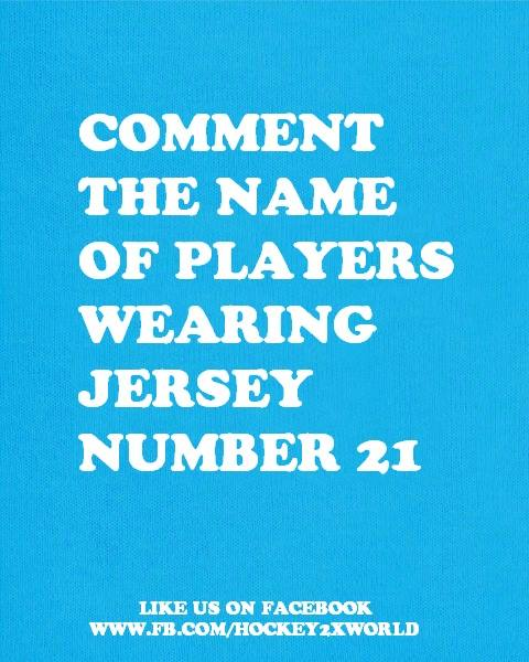 jersey number 21