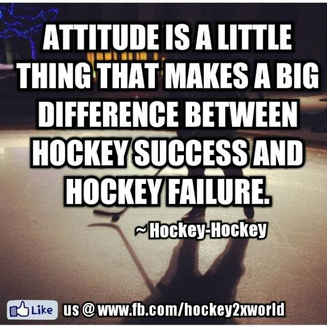 Hockey Success and Hockey Failure.
