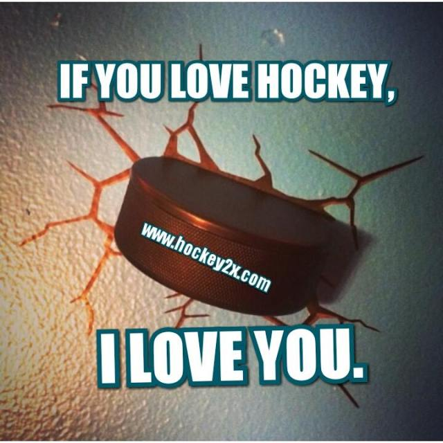 If you love hockey